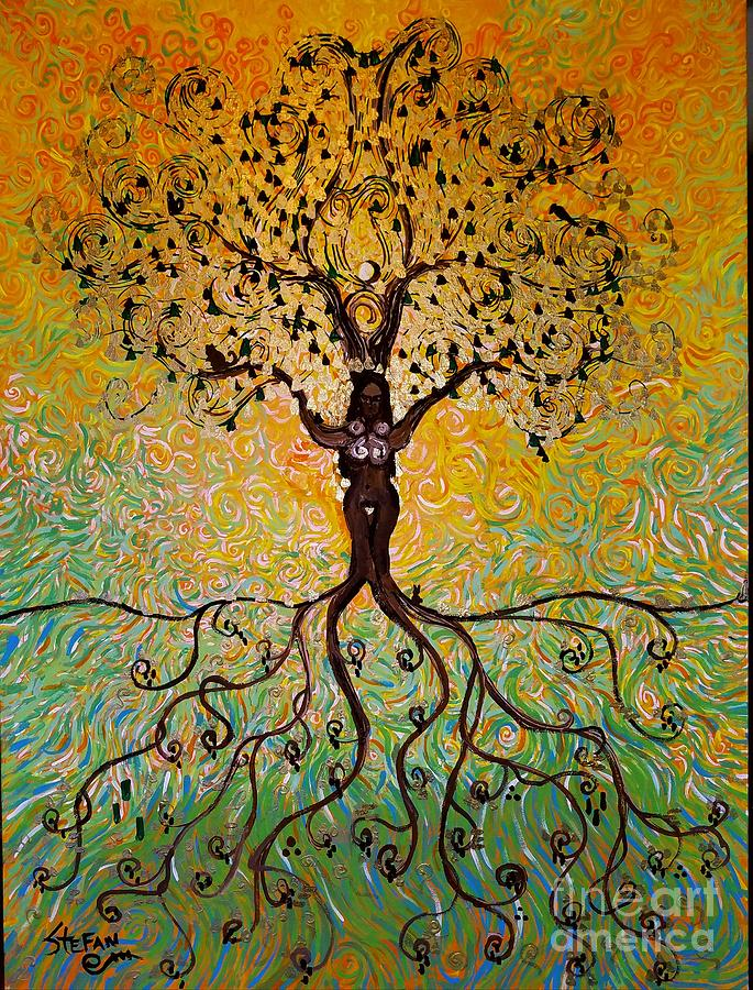 Eclipse In The Tree Of Life by Stefan Duncan