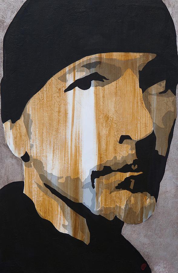 The Edge Painting - The Edge by Brad Jensen