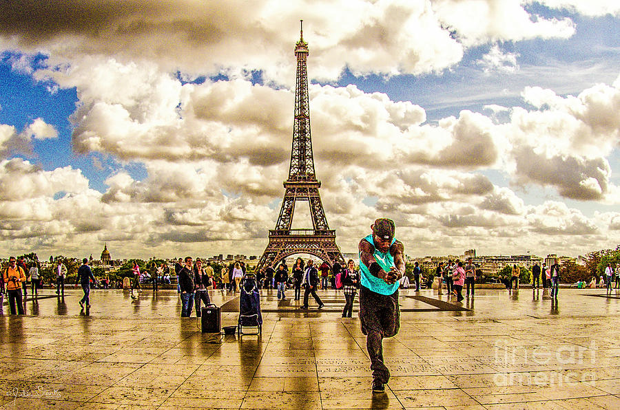 The Eiffel Tower #4 Photograph