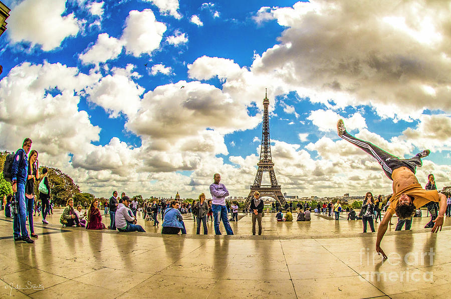 The Eiffel Tower #5 Photograph