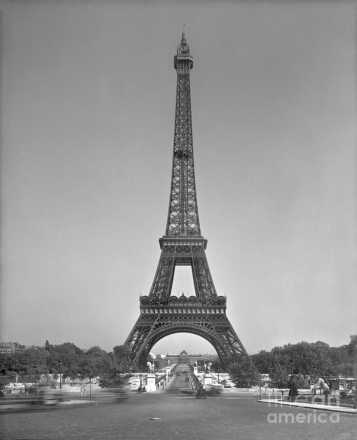 The Photograph - The Eiffel Tower by Gustave Eiffel