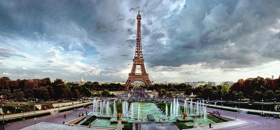 The Eiffel Tower Panorama