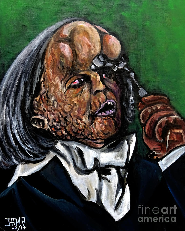 The Elephant Man Painting - The Elephant Man by Jose Mendez
