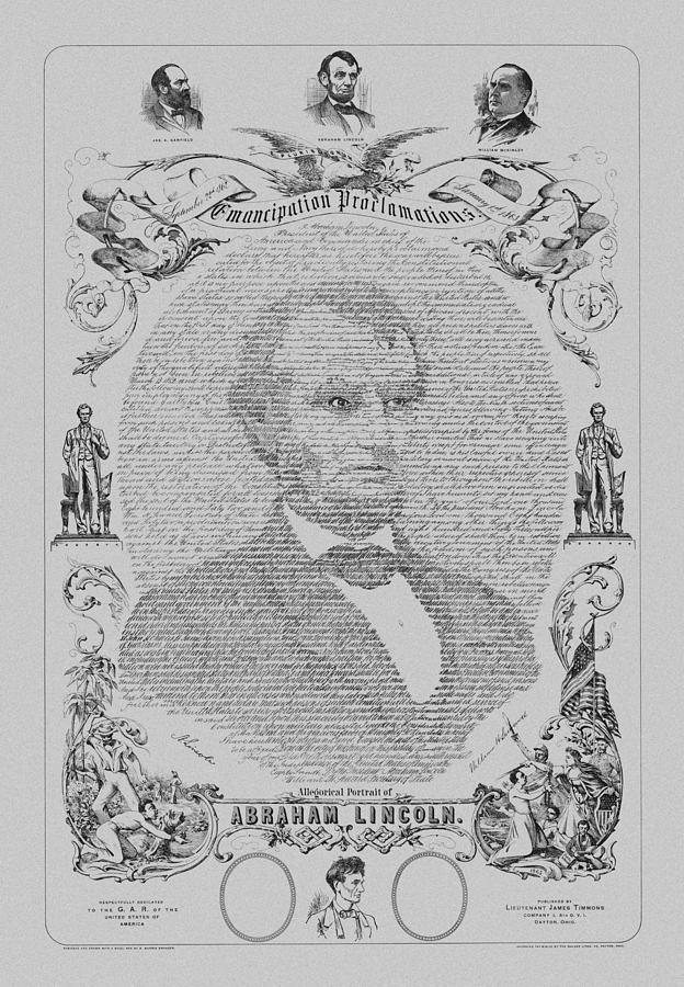 The Emancipation Proclamation Mixed Media