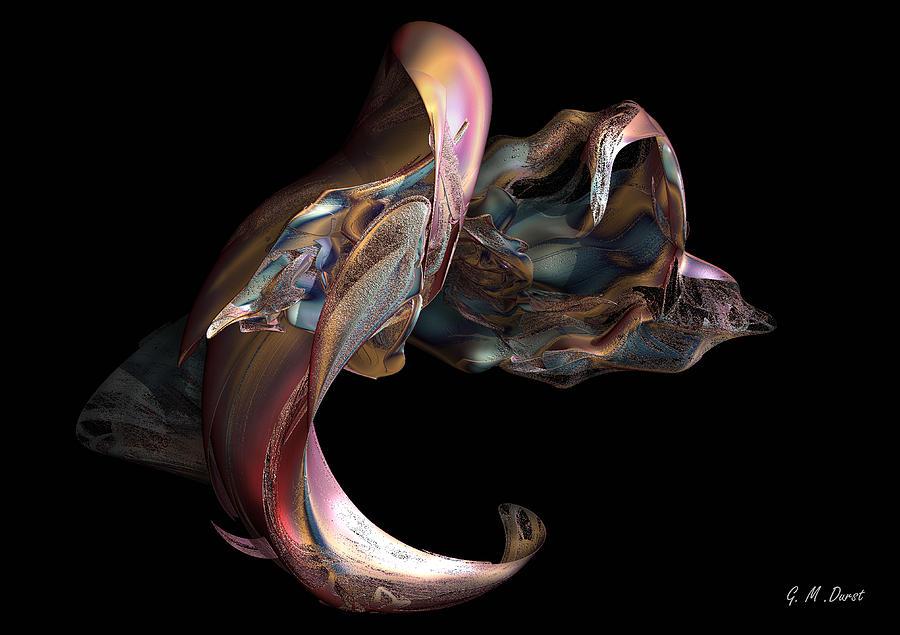 Digital Digital Art - The Emerging Self by Michael Durst