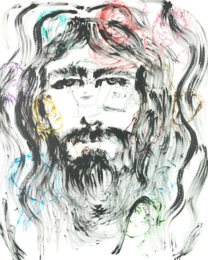 Jesus Painting - The Emotions Of Jesus by Nadine Rippelmeyer