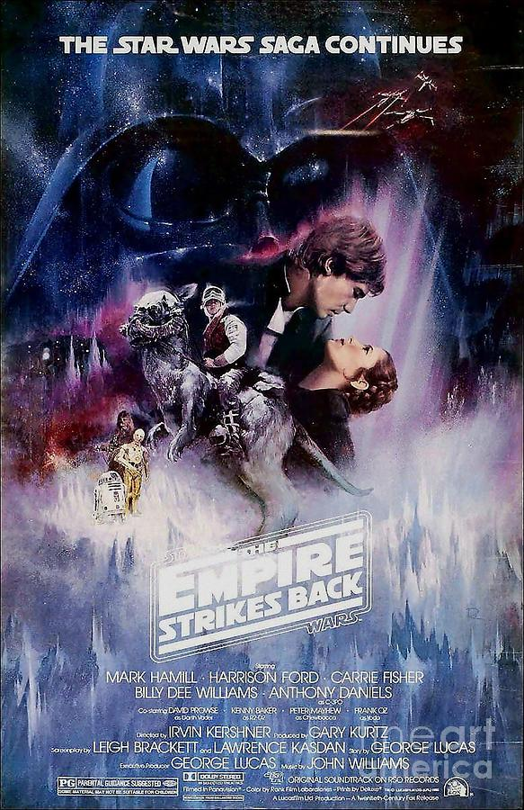 Star Wars Digital Art - The Empire Strikes Back by Baltzgar