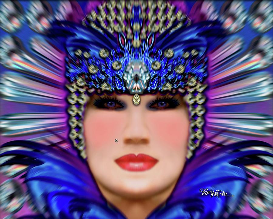 Inspiration Photograph - The Empress Barbaka #192 by Barbara Tristan