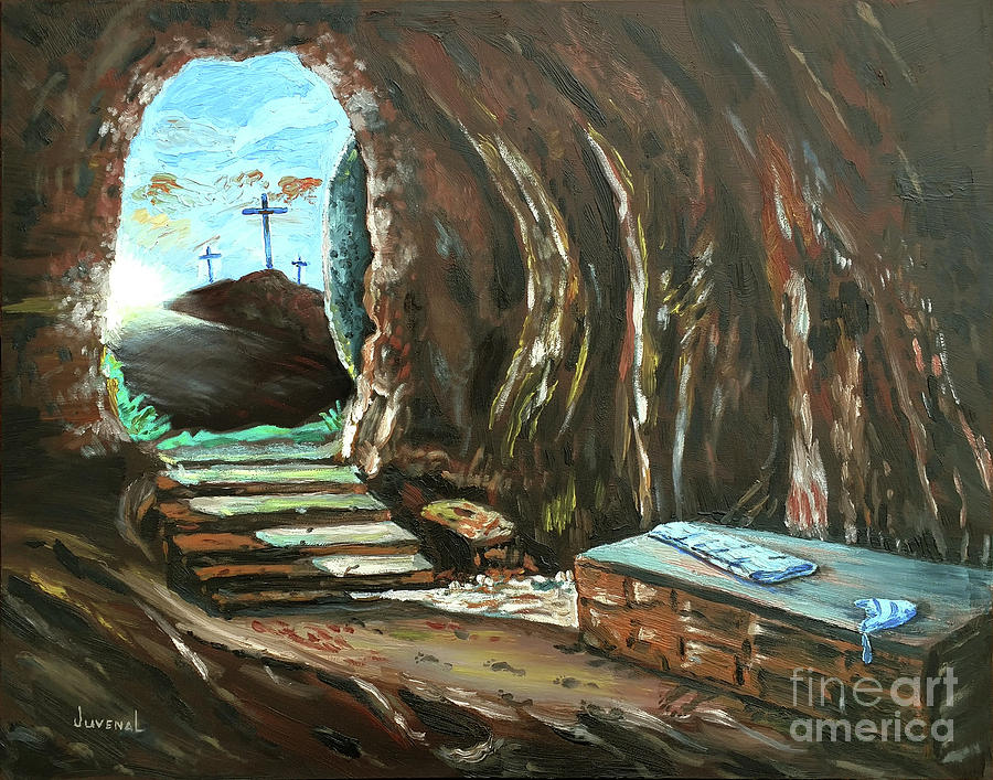 image of empty tomb the empty tomb painting by joseph juvenal 7559