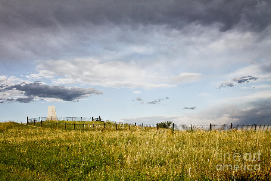 Landscape Photograph - The End Of It All by Sandy Adams