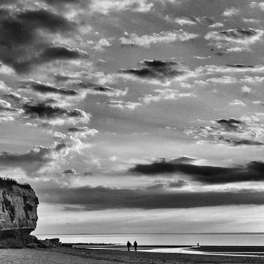 Nature Photograph - The End Of The Day, Old Hunstanton  by John Edwards
