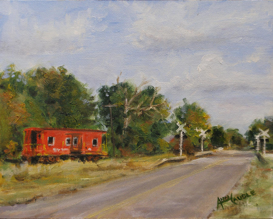 Alabama Painting - The End Of The Line by Ann Caudle