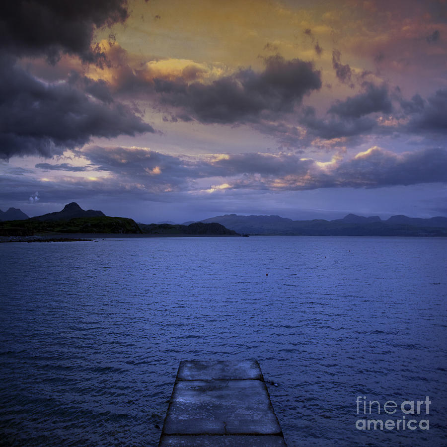 Platform Photograph - The End Of The Road by Angel  Tarantella