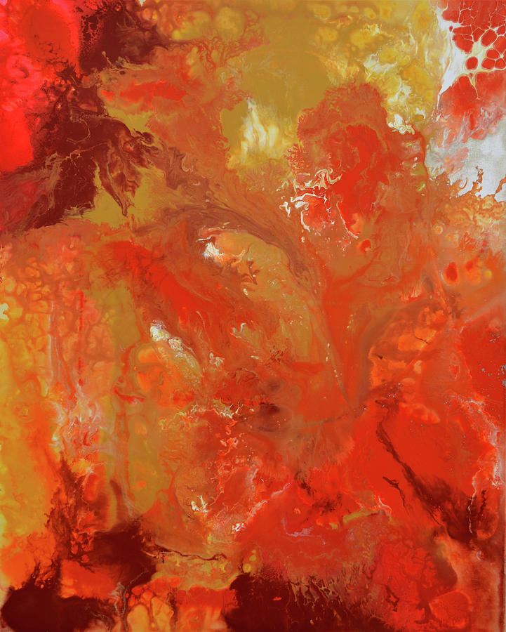 The Energy Of Autumn Painting