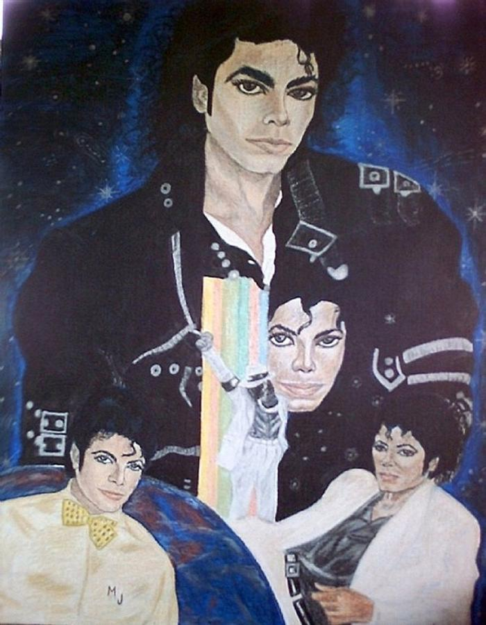 Thriller Painting by Arron Kirkwood