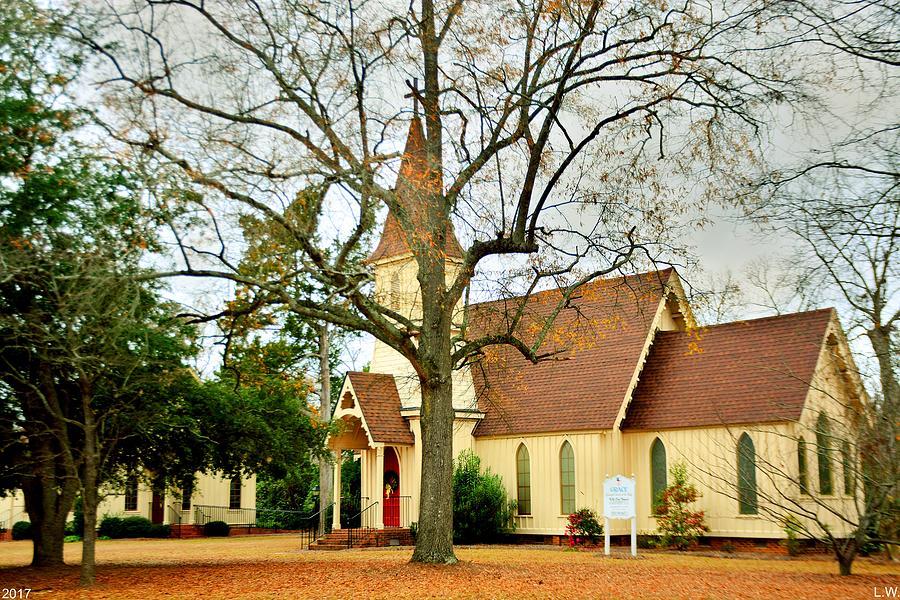 Grace Episcopal Church Photograph - The Episcopal Church Of The Ridge-grace Episcopal Church 3 by Lisa Wooten