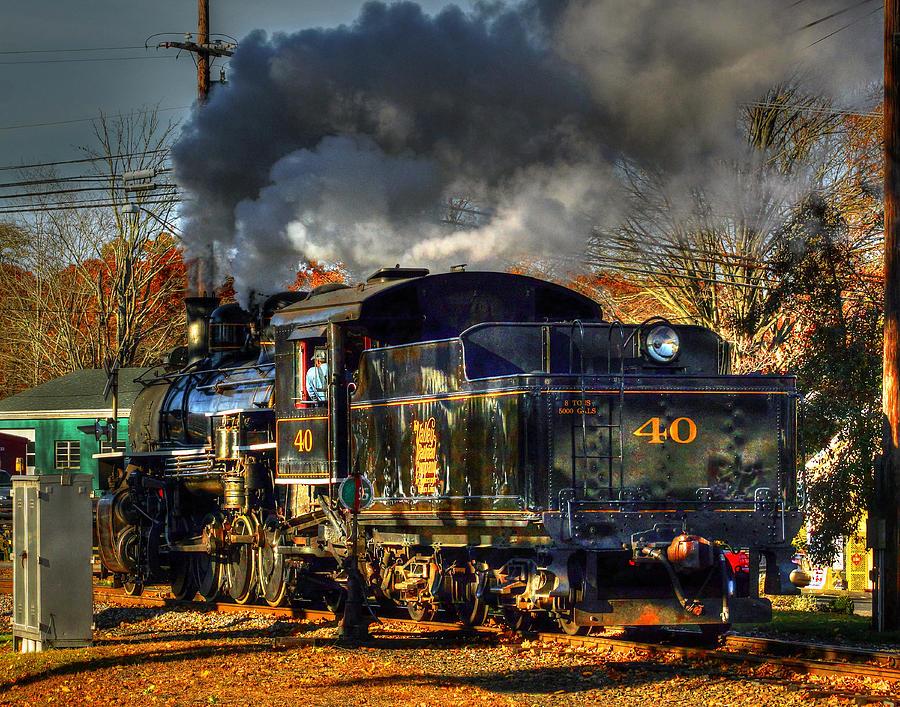 The Essex Steam Train 374 Photograph