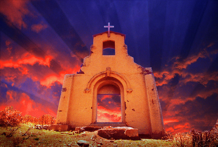 Church Digital Art - The Event by Jerry McElroy