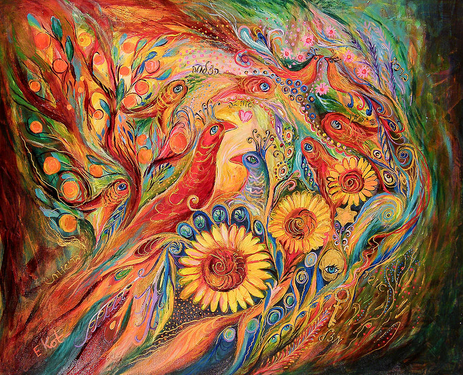 Original Painting - The Evidence Of Miracle by Elena Kotliarker