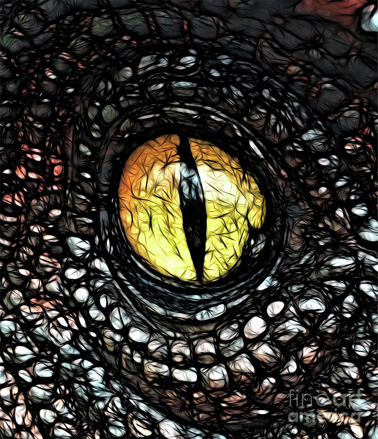 The Evil Eye By Raphael Terra Digital Art
