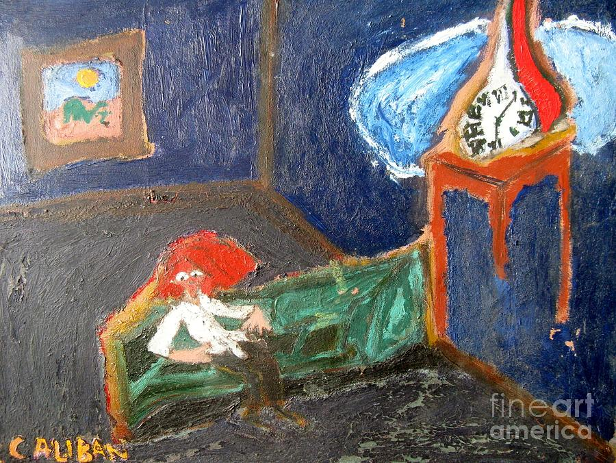 Existentialism Painting - The Existentialist by Caliban Strange