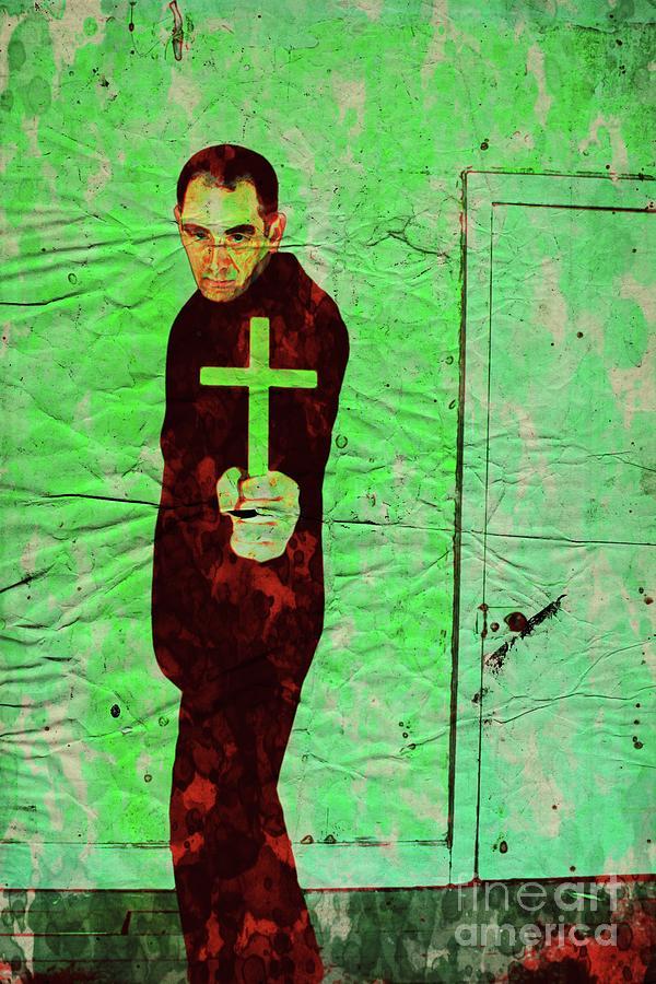 The Exorcist, Pop Art By Mary Bassett Digital Art