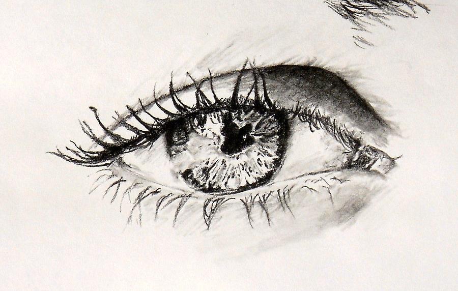 The Eye Drawing by K Ramsey