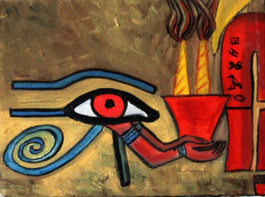 Eye Of Horus Art