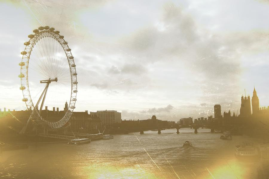 London Photograph - The Eye Of London Art by JAMART Photography