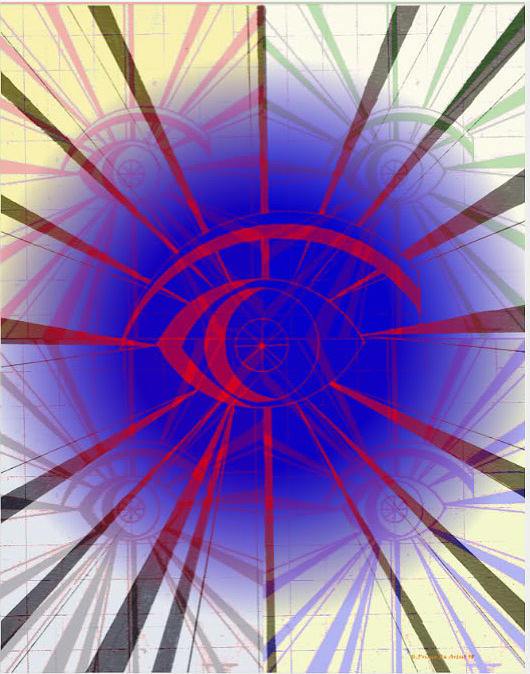 The Eye Of The Storm  Digital Art by HPrince De Artist