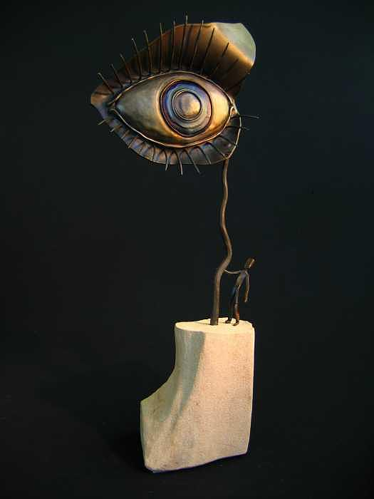 The Eye Sculpture by Todd Malenke