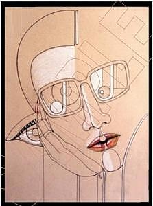 Face Drawing - THE EYES HAVE IT    SERIES...Transformations by Karen Ichino