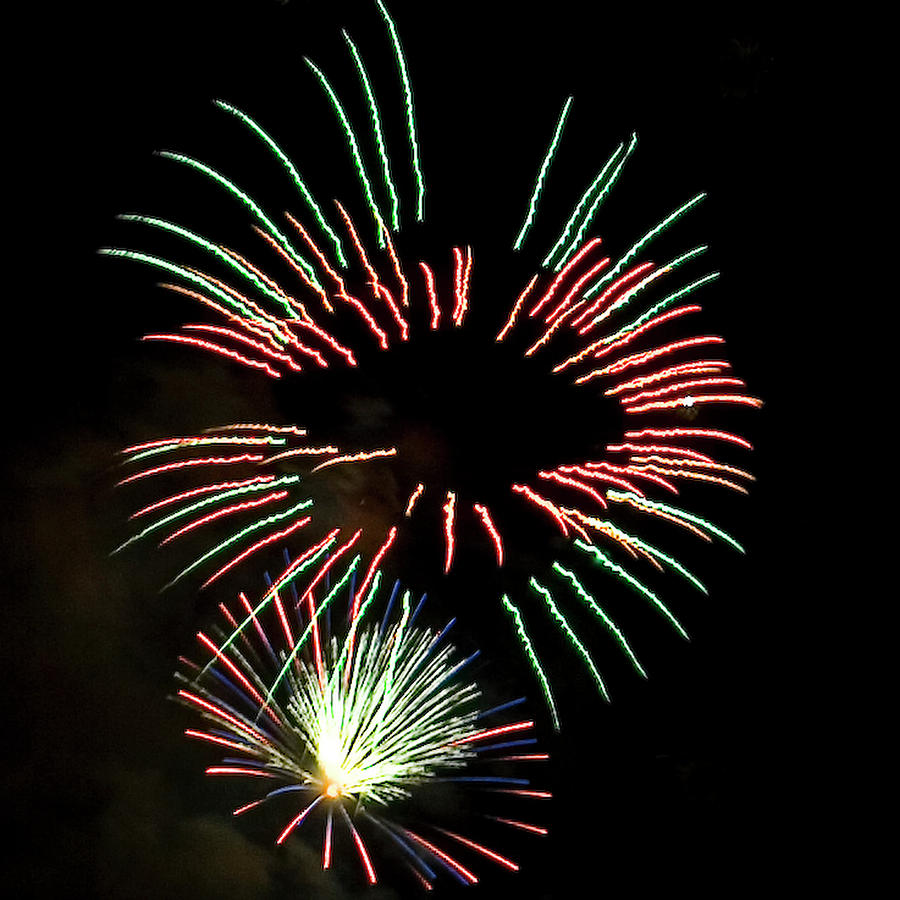 Fireworks Photograph - The Eyes Have It by David Patterson