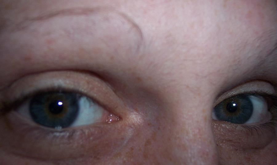 People Photograph - The Eyes Of A Woman by Jessica Sanders