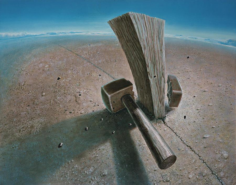 Concept Painting - The Failure by De Es Schwertberger