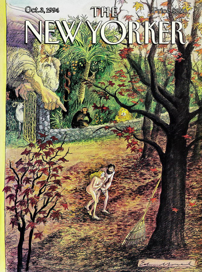 New Yorker October 3rd, 1994 Painting by Edward Sorel