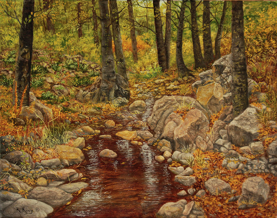 The Fall Stream by Roena King