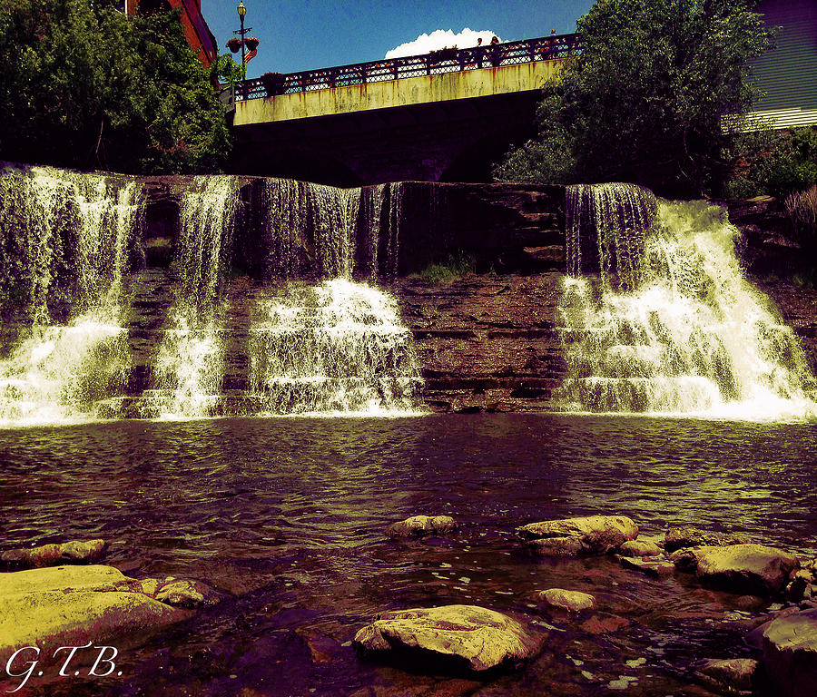 Waterfall Photograph - The Falls by Garrett Blum