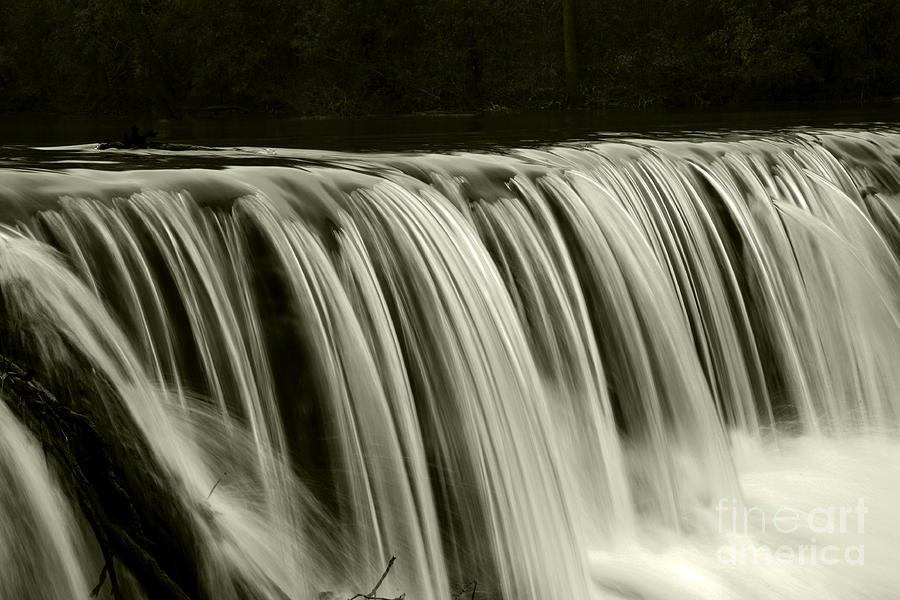 Waterfalls Photograph - The Falls by Timothy Johnson