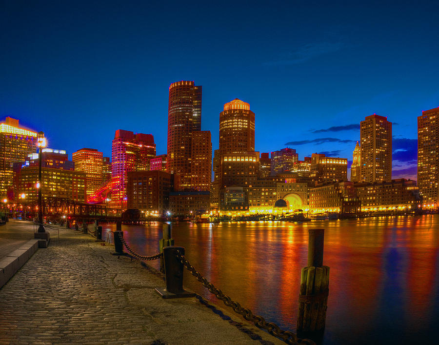 The Fan Pier And Rowes Wharf 673 Photograph