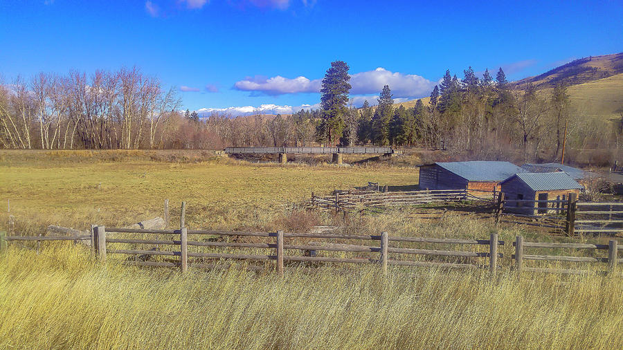 Farm Photograph - The Farm at Mile 110 by Bryan Spellman