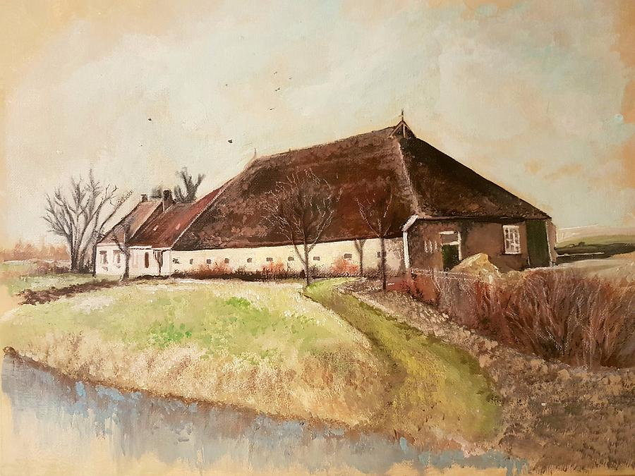 The Farm Painting by Carole Hutchison