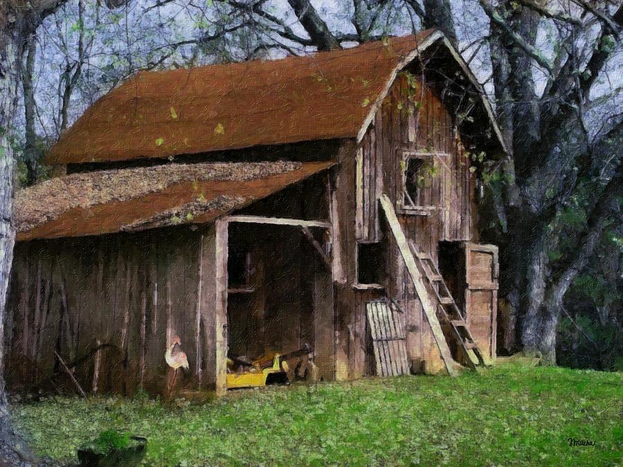 Farm Painting - The Farm by Teresa Mucha