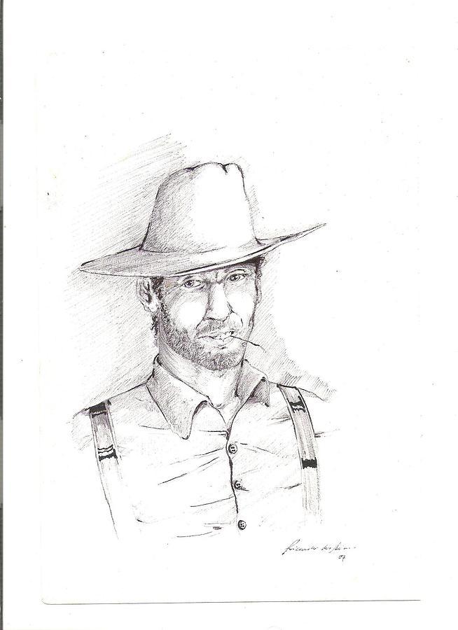 Farmer Drawing - The Farmer by Ricardo Reis