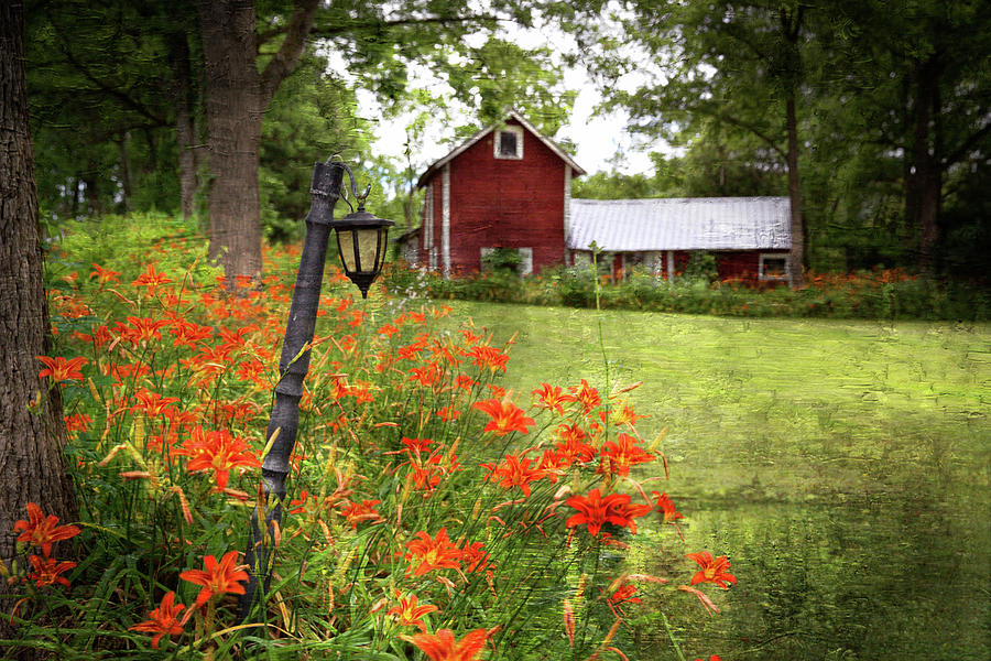 The Farmhouse Photograph by Scott Fracasso