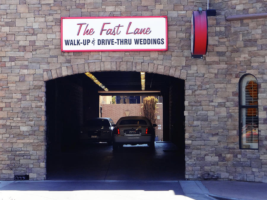 Weddings Photograph - The Fast Lane 2 by Bruce Iorio