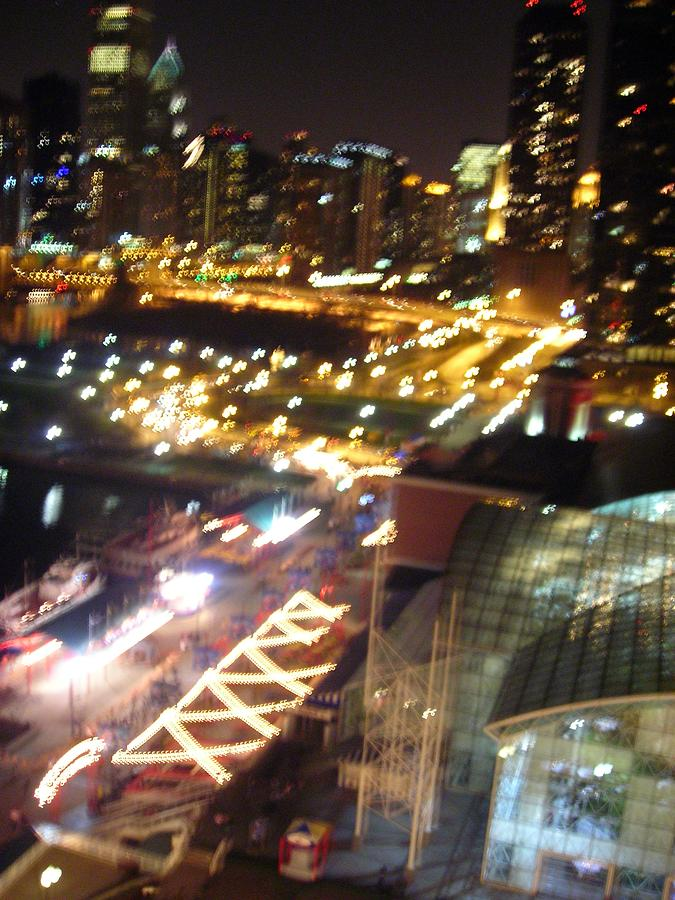 Chicago Photograph - The Fast Lane by Peter Mowry