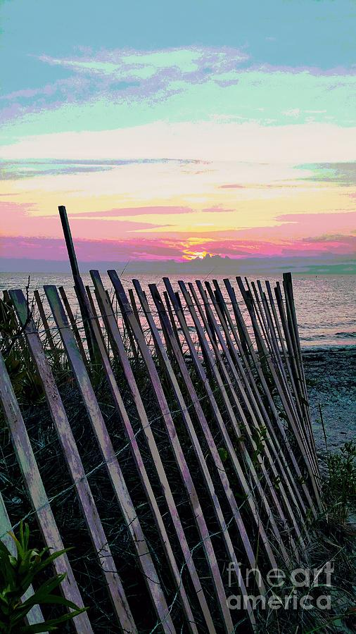 Fence Photograph - The Fence II  by Christine Chepeleff