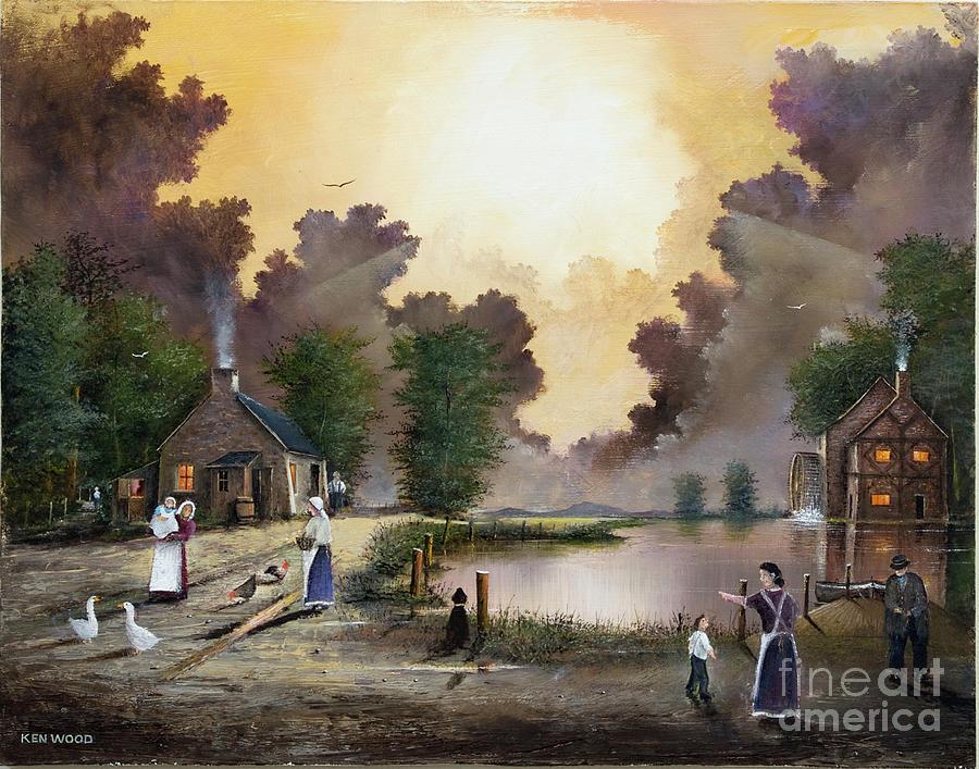The Ferryman by Ken Wood
