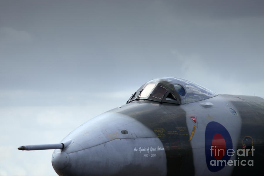 Avro Vulcan Photograph - The Fifty Year Old Lady  by Angel  Tarantella